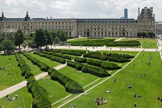 il giardino delle tuileries a parigi parchi e giardini a parigi. Black Bedroom Furniture Sets. Home Design Ideas