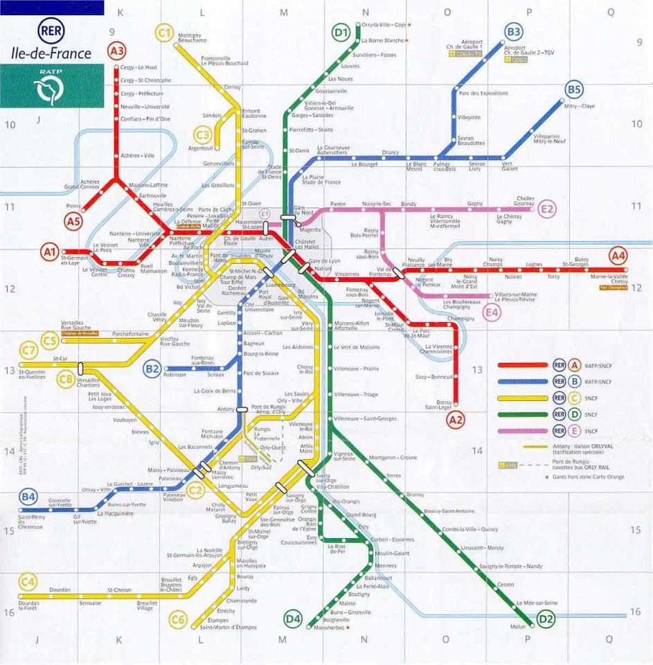Cartina Parigi Zone Metro.Muoversi A Parigi Con Disabili Come Spostarsi Info Biglietti E