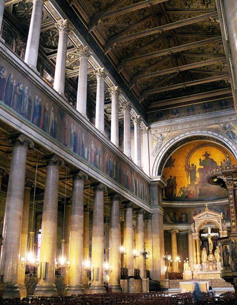 monumenti chiese e cattedrali a parigi chiesa di saint vincent de paul. Black Bedroom Furniture Sets. Home Design Ideas