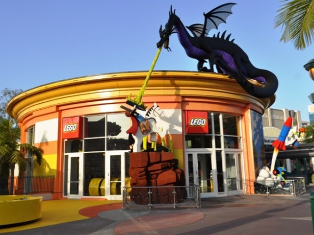 Negozio Lego al Disney Village