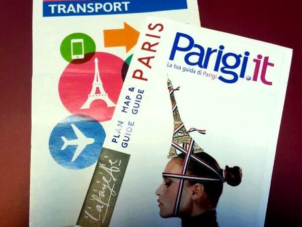 Cartina turistica città di Parigi - Cartina sconti Paris Visite Paris Tourisme Transport