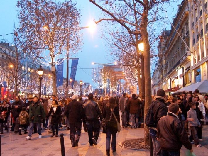 avenue Champs Elysées