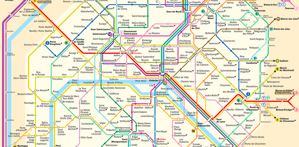 Parigi Cartina Quartieri.Mappa Parigi Cartina Interattiva Metro Bus E Quartie