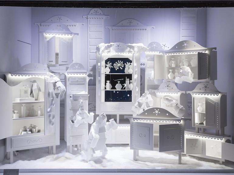 Natale bianco Polare - Galeries Lafayette Parigi 2016