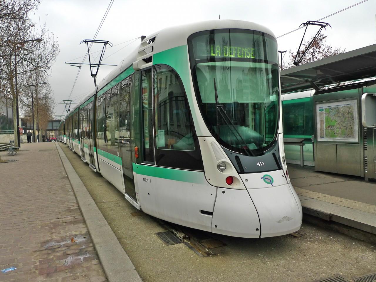 Parigi in tram