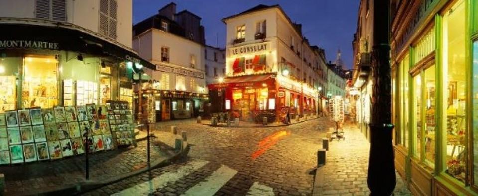 Quartiere Montmartre di Parigi