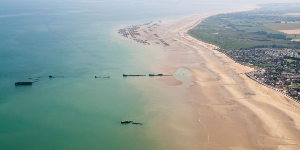 Spiagge dello sbarco Normandia