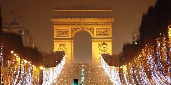 Capodanno a Parigi - Champs Elysées