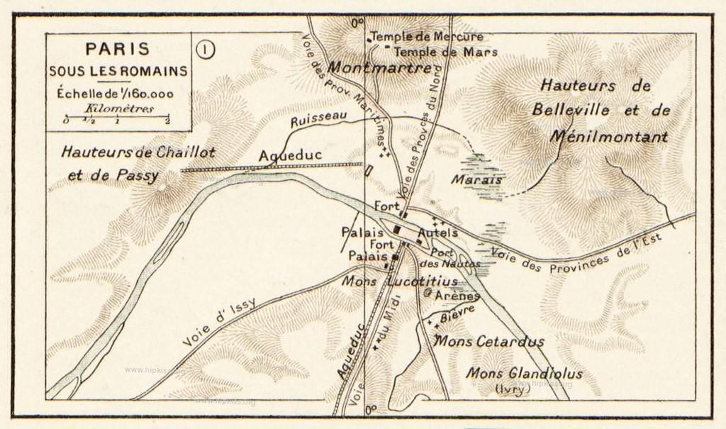 Cartina Di Parigi E Dintorni.La Storia Di Parigi In Breve Dalle Sue Origini Al 21 Secolo
