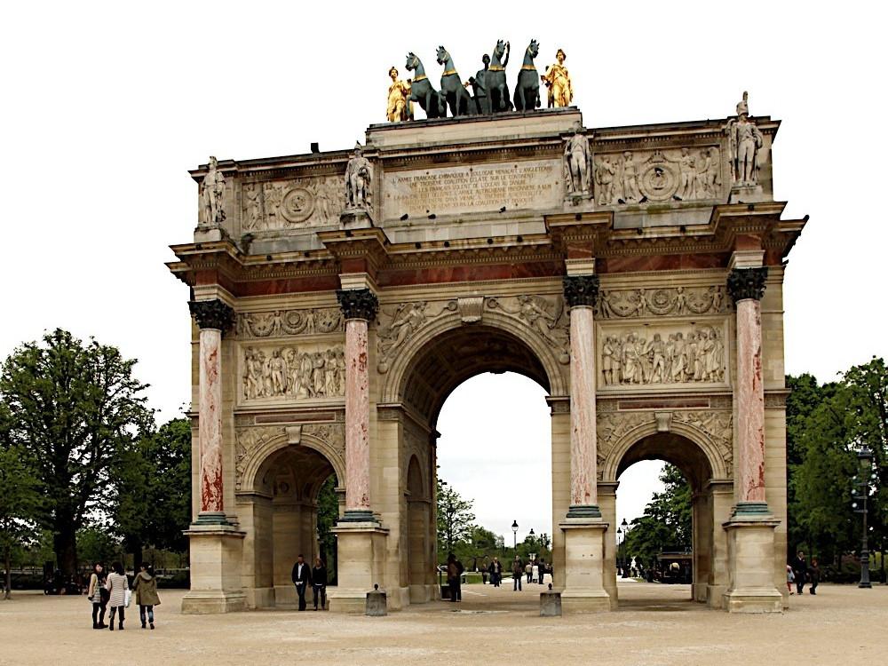 Arco di Trionfo del Carrousel Parigi
