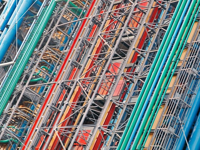 Centre Pompidou - Photo by Christophe Mouton ©