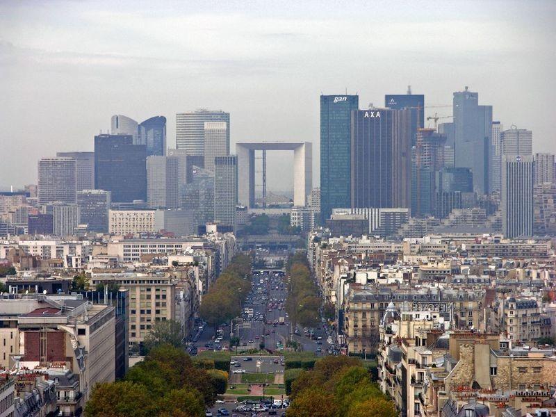 Grande Arche de La Défense Parigi