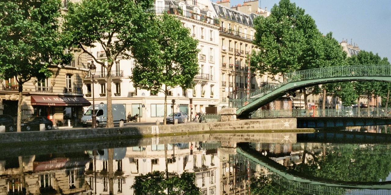 Canale Saint-Martin Paris