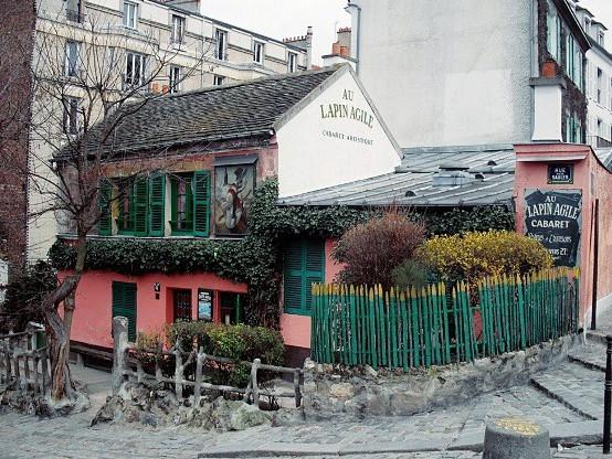 Rue Saint Vincent - Lapin Agile
