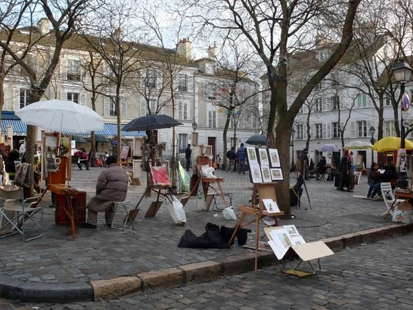 Place du Tertre Paris