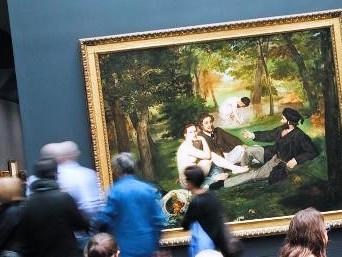 Colazione sull'erba di Manet - Museo d'Orsay