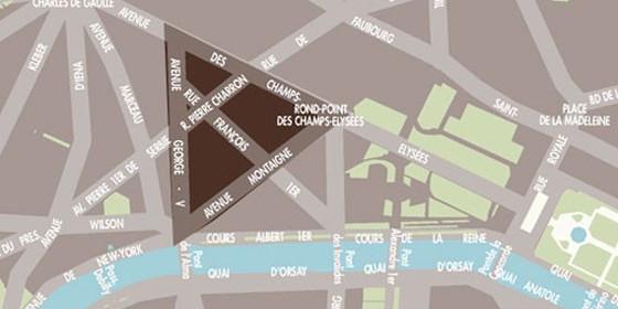 Triangolo d'oro a Parigi