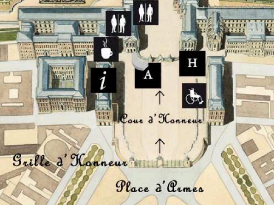 Versailles ingresso per disabili A e H