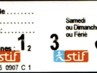 Ticket Jeune