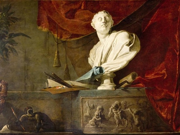 Les-attributs-des-arts Chardin