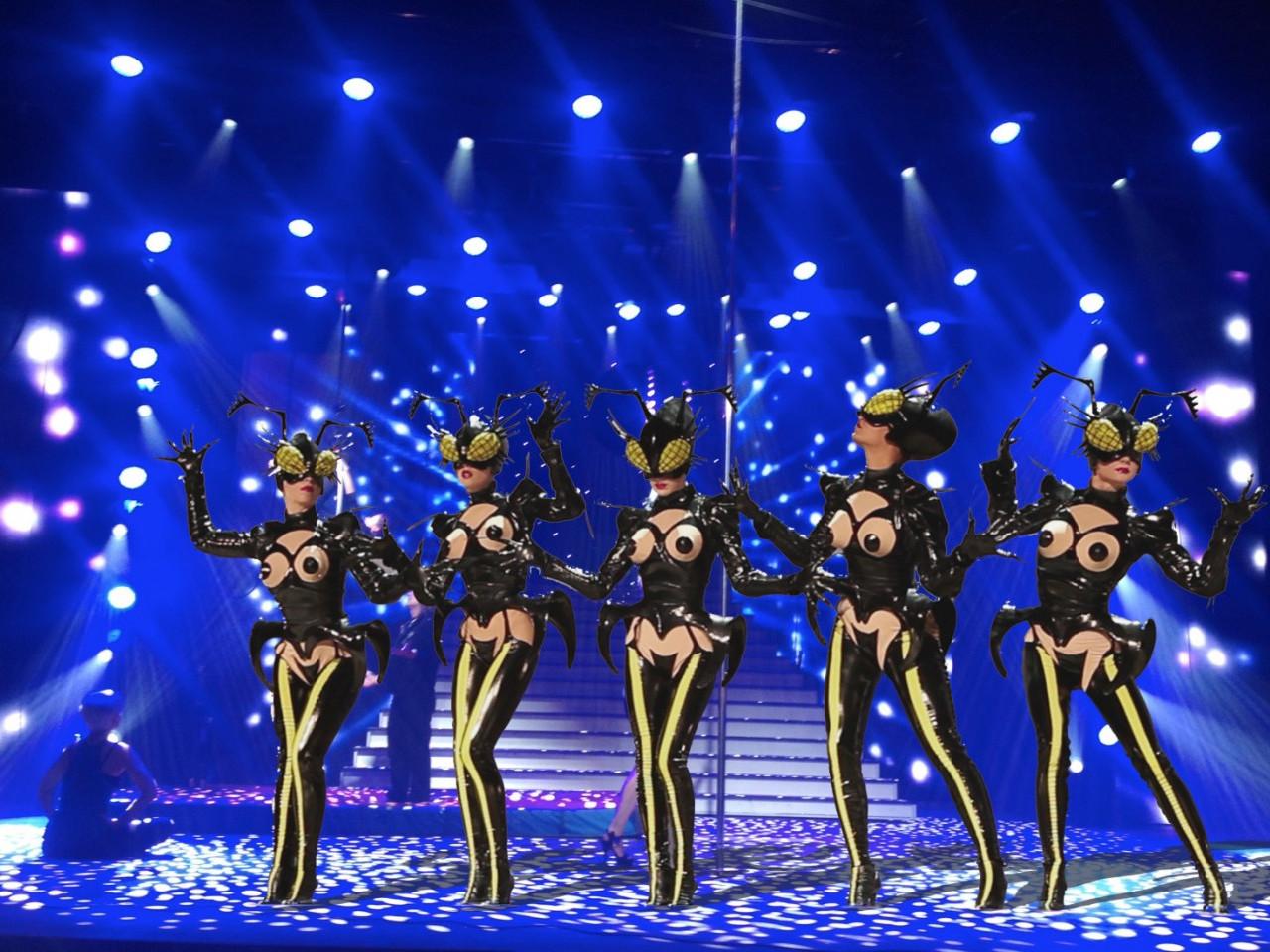 Muglerettes_onstage_©MTML