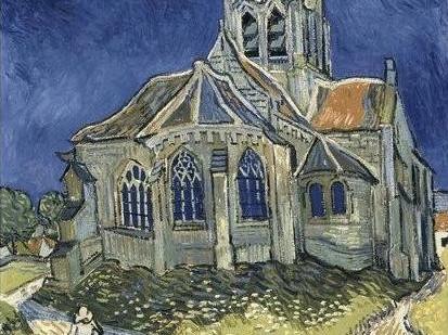 VanGogh_La Chiesa di Auvers-sur-Oise