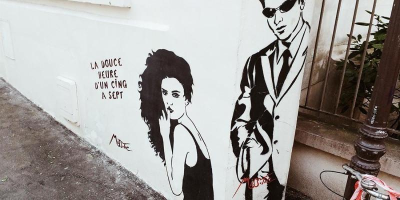 Street Art - MissTic Butte-aux-Cailles