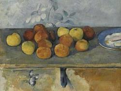 Paul Cézanne Pommes et biscuits - Musée National de l'Orangerie Parigi
