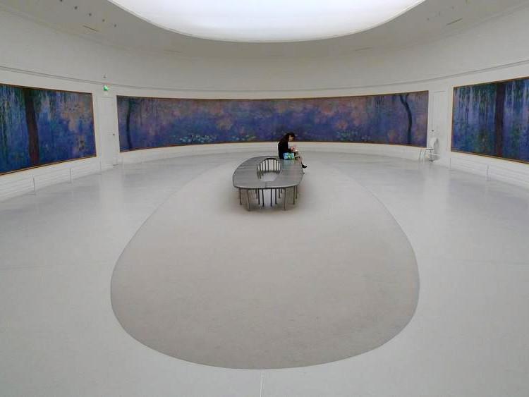 Ciclo di Ninfe Monet- Musée National de l'Orangerie Parigi