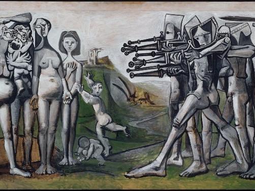 Massacro in corea - P. Picasso au Musée Picasso Paris