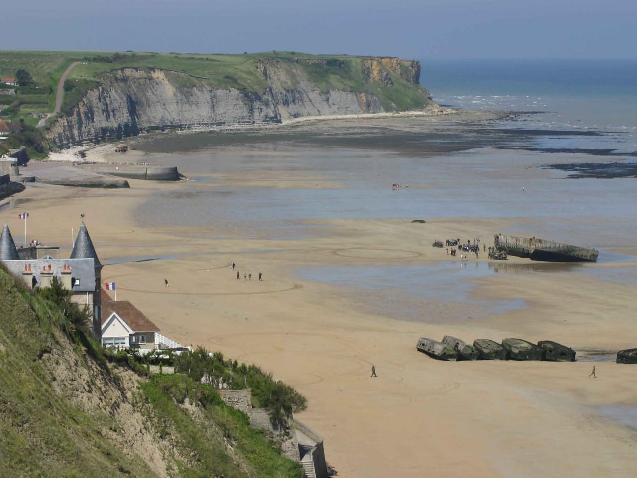 Arromanches - Spiagge dello sbarco Normandia