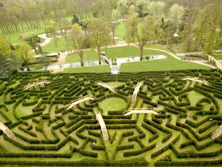 Labirinto Chateau de Thoiry