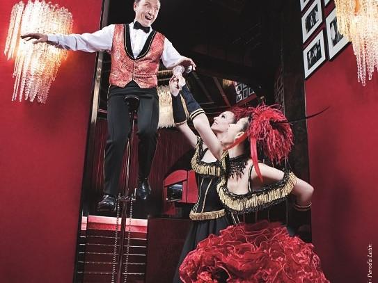 Paradis Latin - acrobate