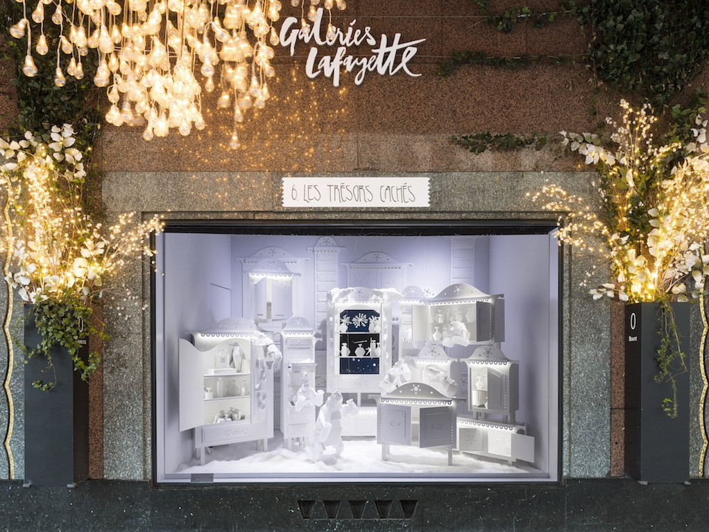 Vetrine di Natale Galeries Lafayette 2016 Parigi