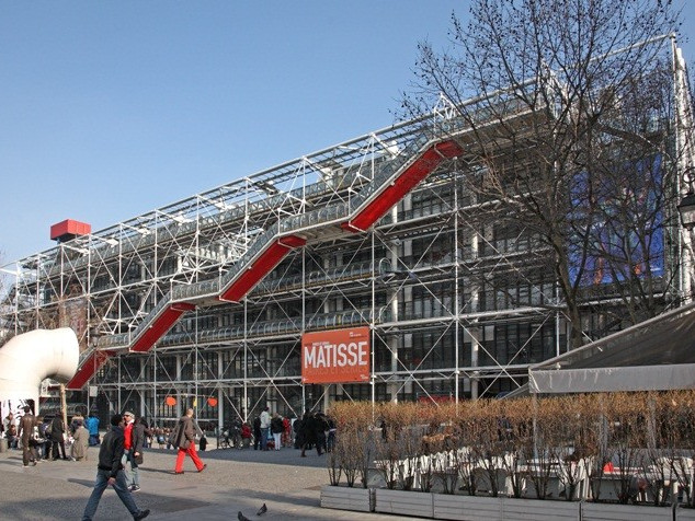 CGP 10 : Architectes : Renzo Piano, Richard Rogers © Photo : Centre Pompidou / G.Meguerditchian