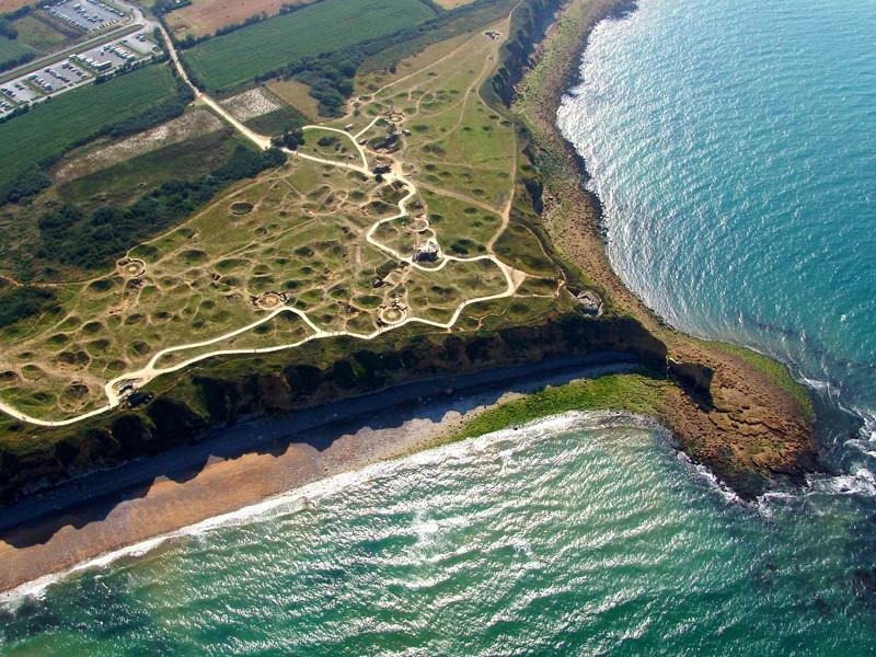 Pointe du Hoc - spiagge dello sbarco Normandia
