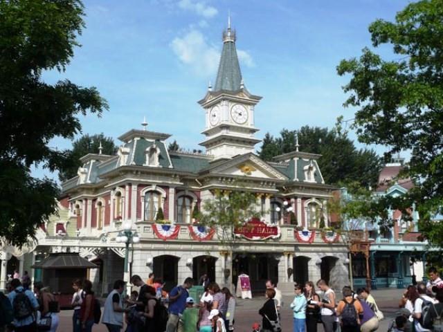 City-Hall Parc Disneyland Paris
