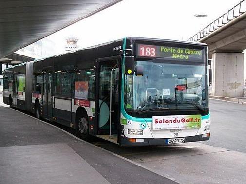 Bus 183 aeroporto Orly
