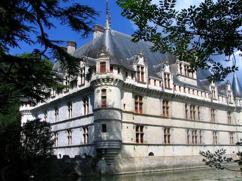 Castello di Azay-Le-Rideau  - Castelli della Loira storia, info sulla visita e biglietti