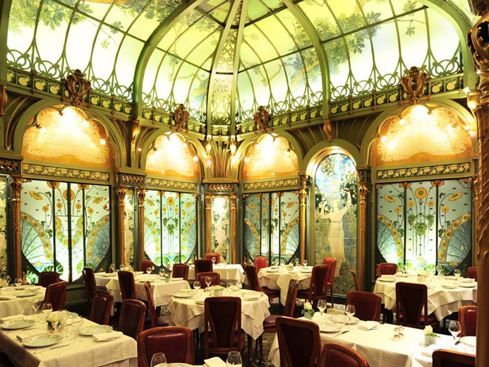 Fermette Marbeuf  1900 Paris - Info e prenotazioni - Ristoranti consigliati a Parigi