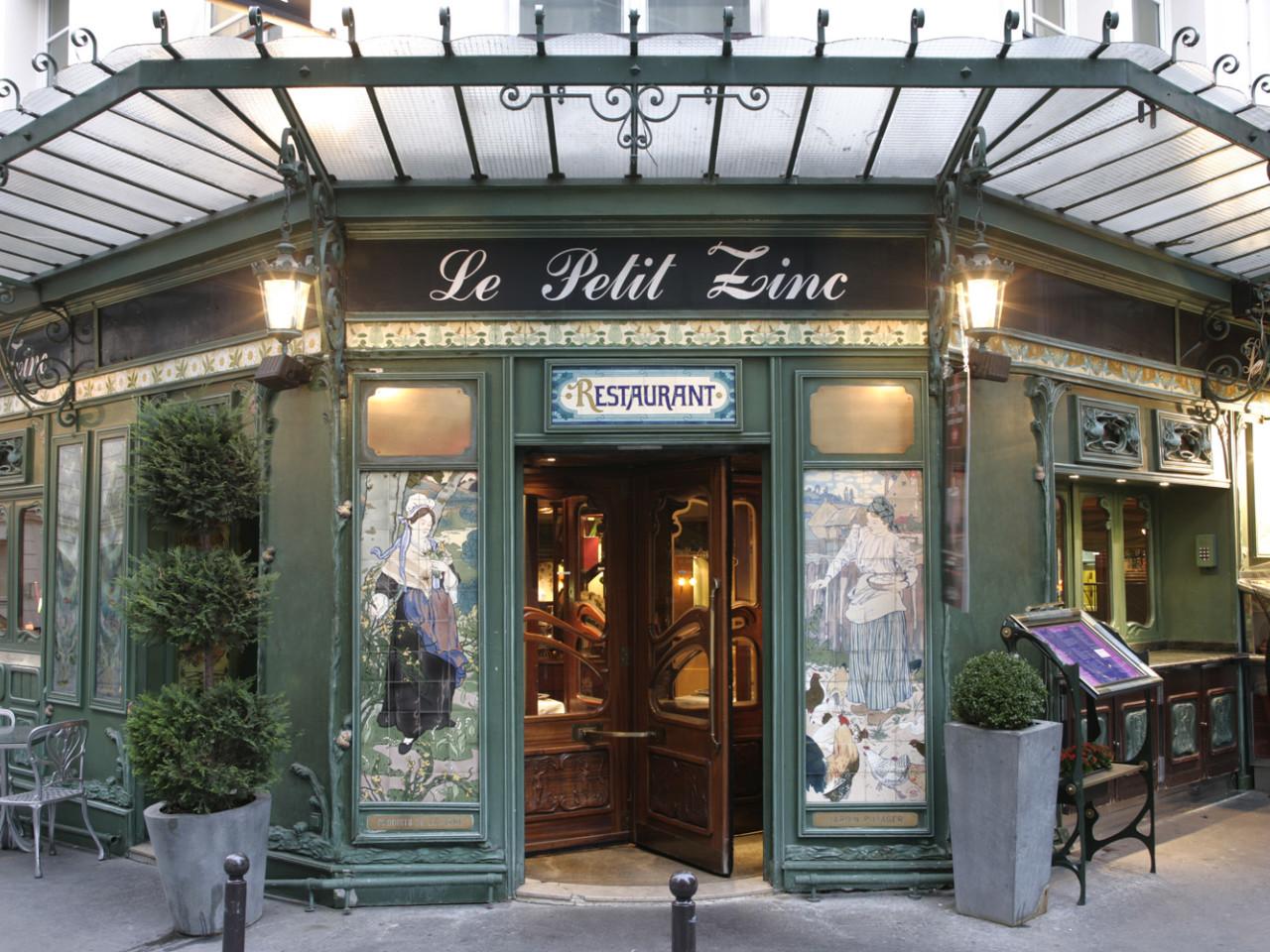 Le Petit Zinc - Saint-Germain Paris - Info e prenotazioni - Ristoranti consigliati a Parigi