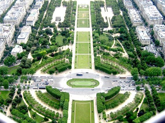 Champ de Mars (Campo di Marte ): Giardini e Parchi a Parigi
