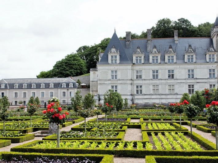 Escursione Castelli della Loira in TGV da Parigi - Chinon, Villandry e Azay-Le-Rideau
