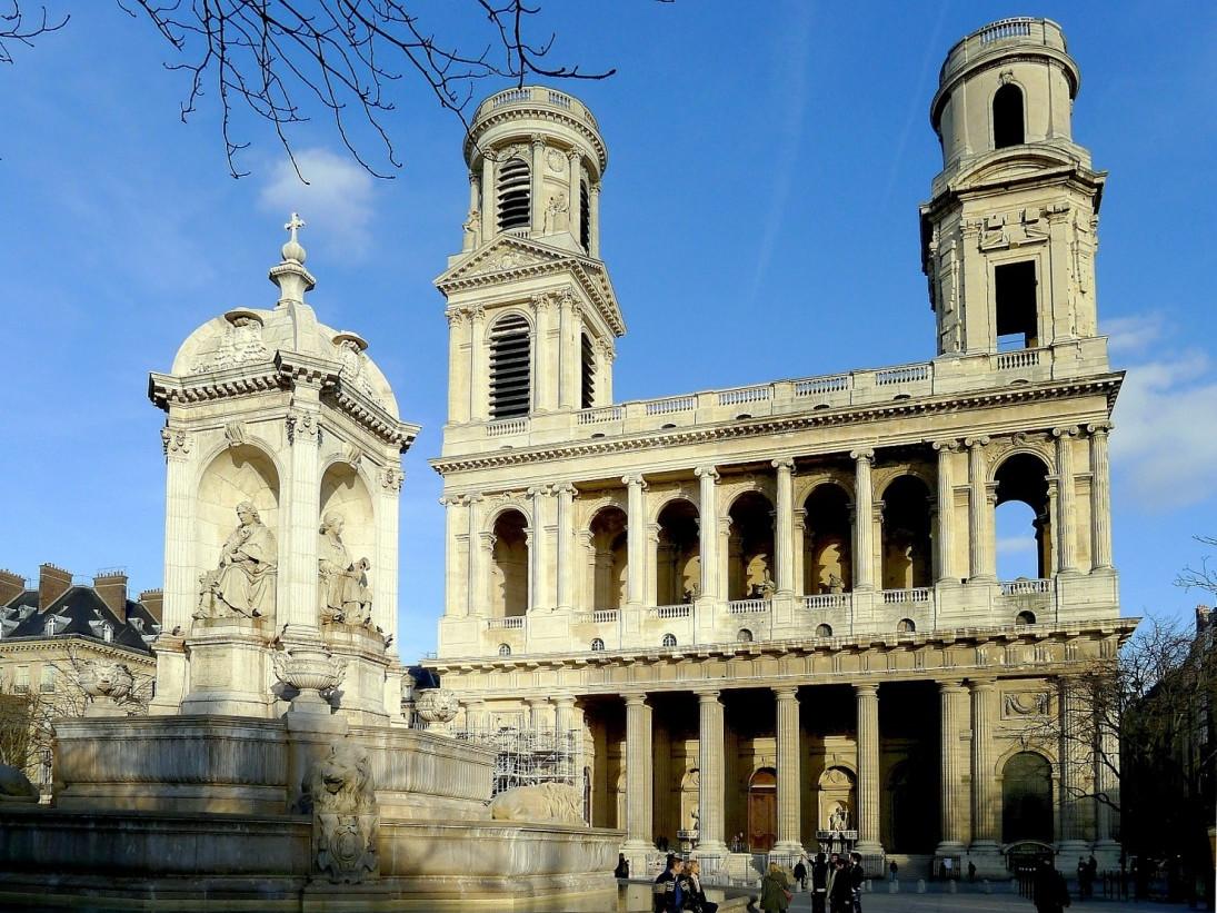 Monumenti, chiese e cattedrali a Parigi: Chiesa di Saint-Sulpice