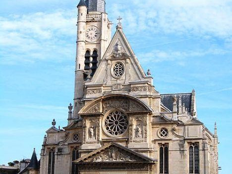 Monumenti, chiese e cattedrali a Parigi: Chiesa di Saint-Étienne-du-Mont