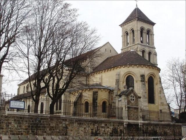 Monumenti, chiese e cattedrali a Parigi: Chiesa di St-Pierre de Montmartre