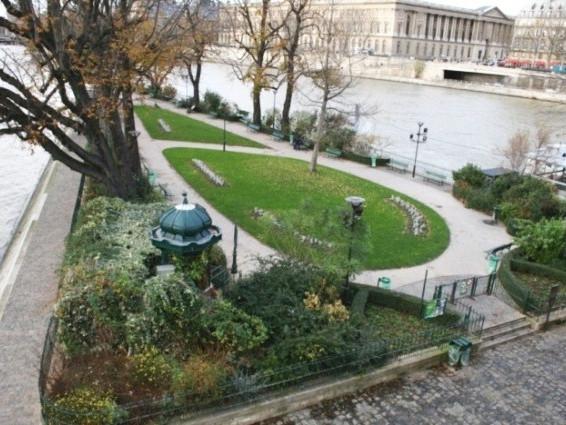Square du Vert-Galant – Le piazze più belle ed autentiche di Parigi