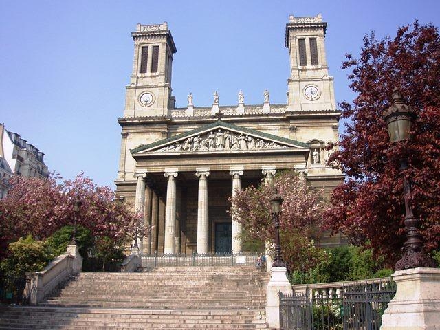 Monumenti, chiese e cattedrali a Parigi: Chiesa di Saint-Vincent-de-Paul