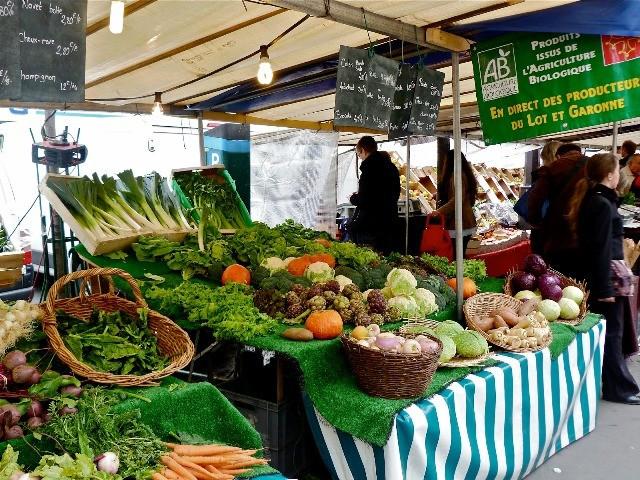Mercatini di Parigi: Mercato di Batignolles