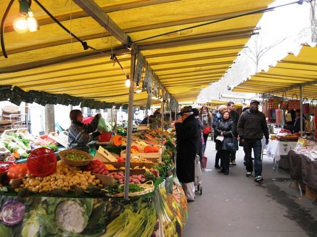 Mercatini di Parigi: Mercato di Place des Fêtes